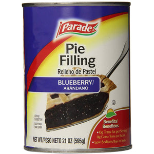 Parade Blueberry Pie Filling 595G