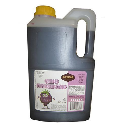 Achva Syrup Grape Flavoured 2L