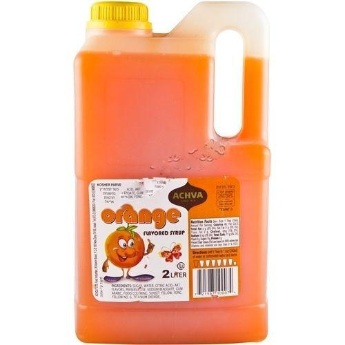 Achva Syrup Orange Flavoured 2L