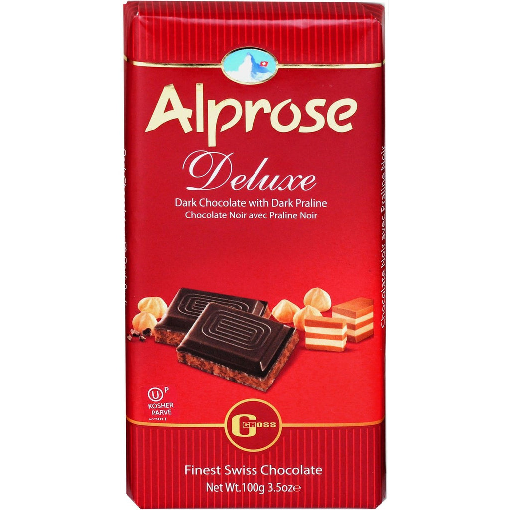 Alprose Dark Deluxe Chocolate 100G