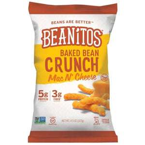 Beanitos Baked Bean Mac n Cheese Crunch 127g