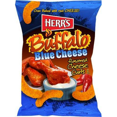 Herr's Buffalo Blue Cheese 198g