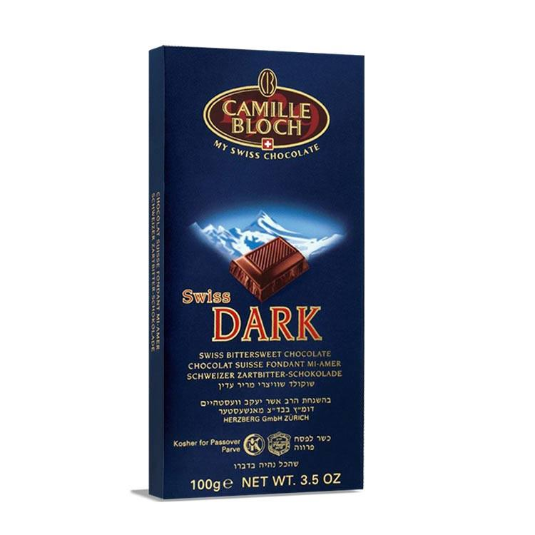 Camille Bloch Swiss Dark Chocolate 100G