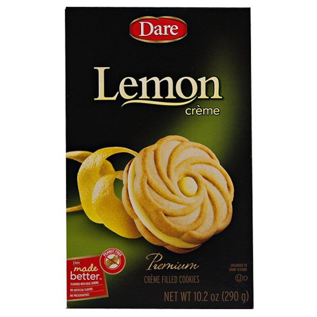 Dare Lemon Creme Cookies 290g