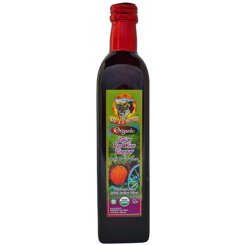 Dela Rosa Italian Wine Vinegar Red - Organic 500Ml