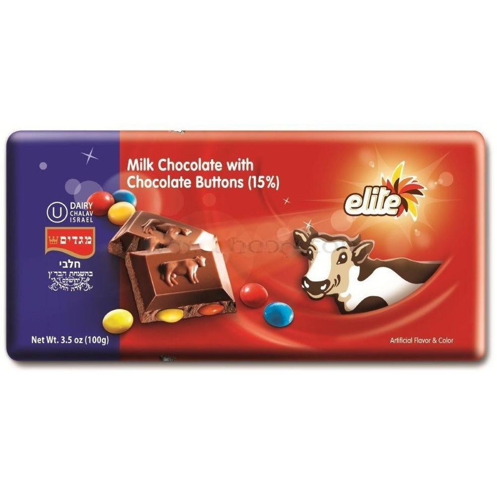 Elite Milk Chocolate With Lentils 100G
