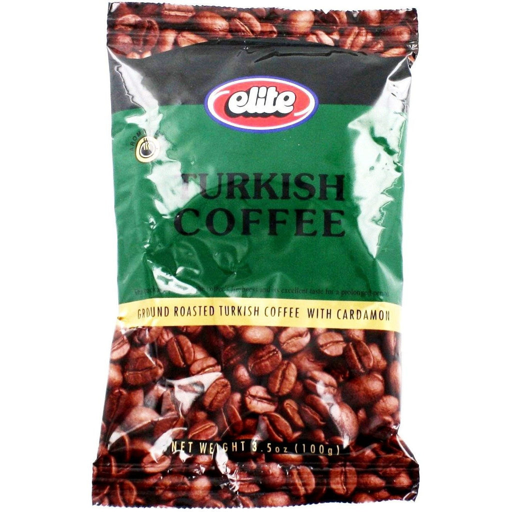 Elite Turkish Coffee With Cardamon 100G