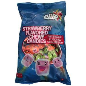Elite Strawberry Toffees 600G