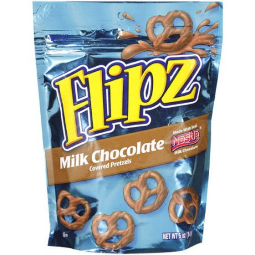 Flipz Milk Chocolate Covered Pretzels 7.5oz