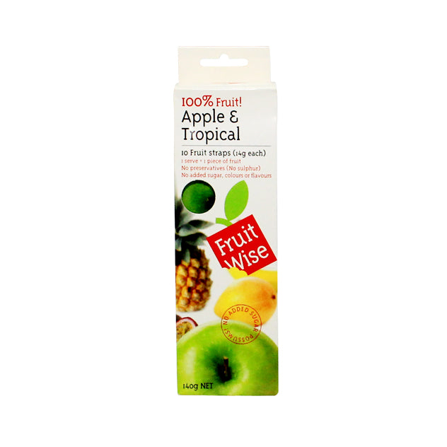 Fruit Wise Apple And Tropical 10 x 14Gr