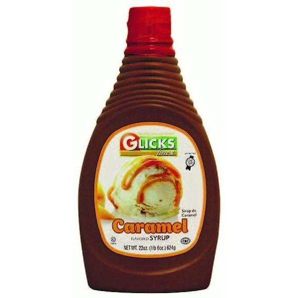 Glicks Caramel Syrup 622Ml
