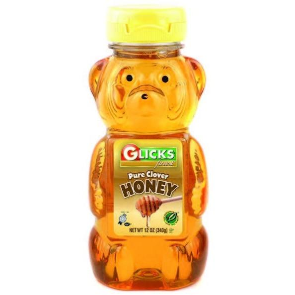 Glicks Honey Bear 340G