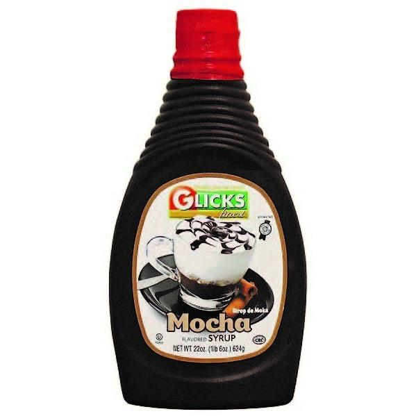 Glicks Mocha Syrup 622Ml