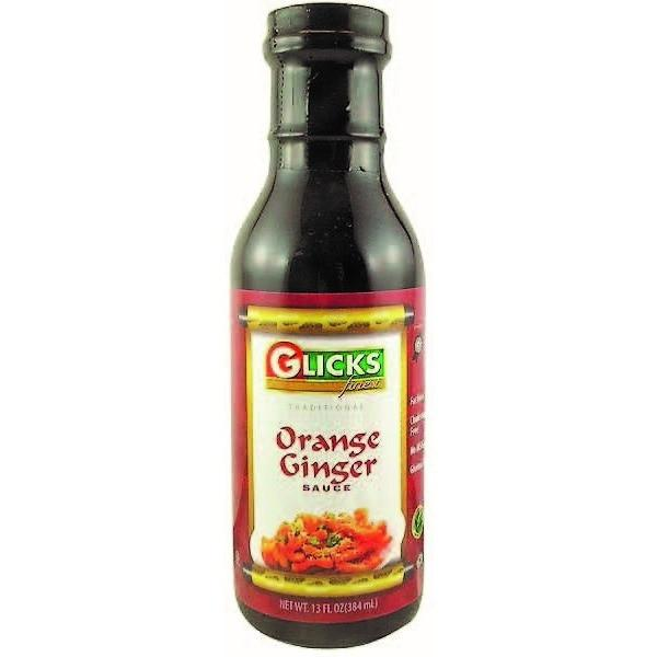 Glicks Orange Ginger Sauce 368G