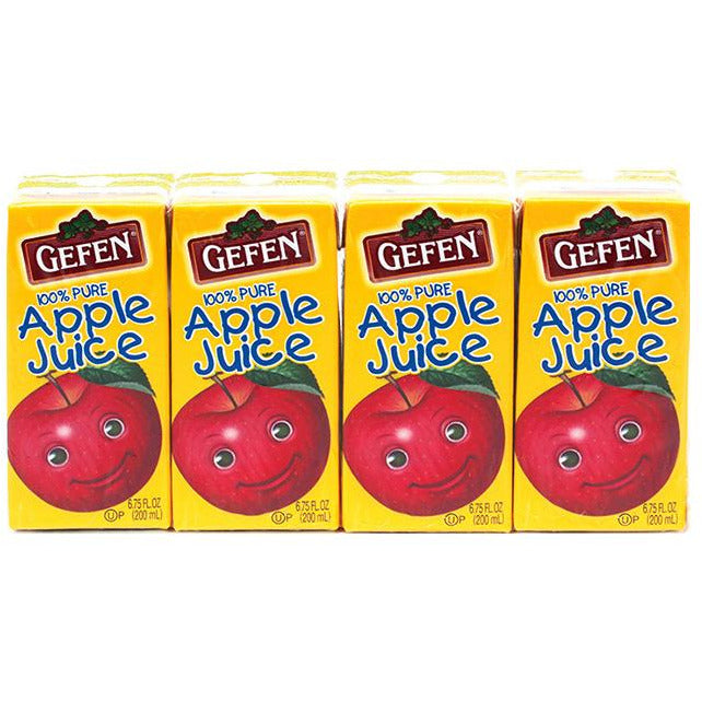 Gefen Apple Juice Prima 4 Pack 200Ml