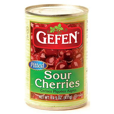 Gefen Sour Cherries Pitted 411Gr