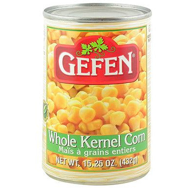 Gefen Corn Whole Kernel 432Gr