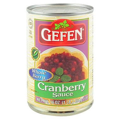 Gefen Cranberry Sauce Whole Berry 454G