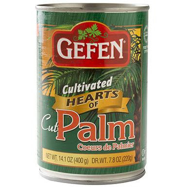 Gefen Hearts Of Palm Cut Canned 400G