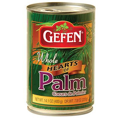 Gefen Hearts Of Palm Whole Canned 400G