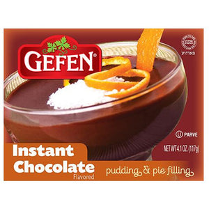 Gefen Instant Chocolate Pudding 120G