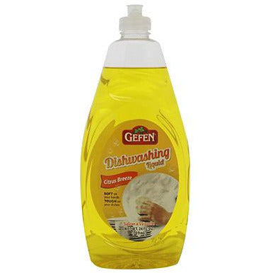Gefen Lotion Dish Detergent Lemon Citrus Breeze 946Ml