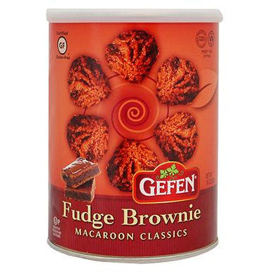 Gefen Macaroons Fudge Brownie 284Gr