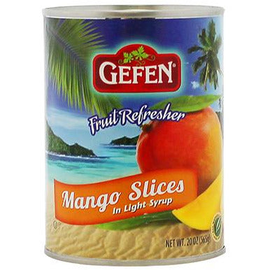 Gefen Mango Slices In Light Syrup 565G