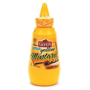Gefen Mustard Yellow Squeeze Small 255Ml