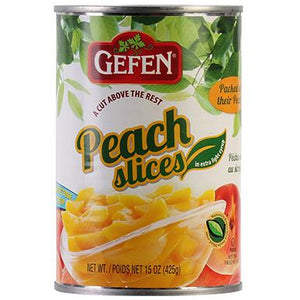 Gefen Peaches Sliced 425G