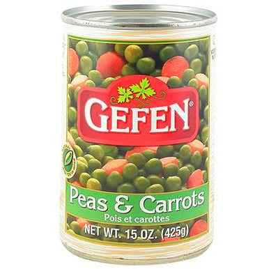 Gefen Peas & Carrots Canned 425G