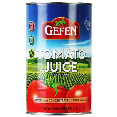 Gefen Tomato Juice Canned 1.36L