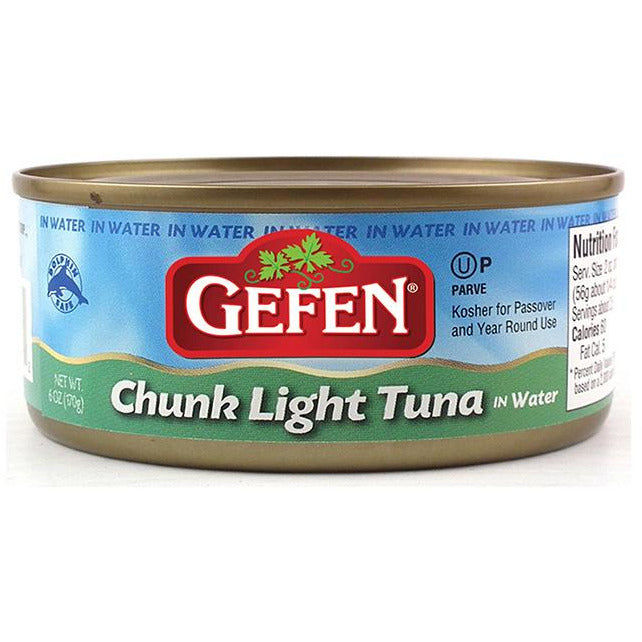 Gefen Tuna In Water 170Gr
