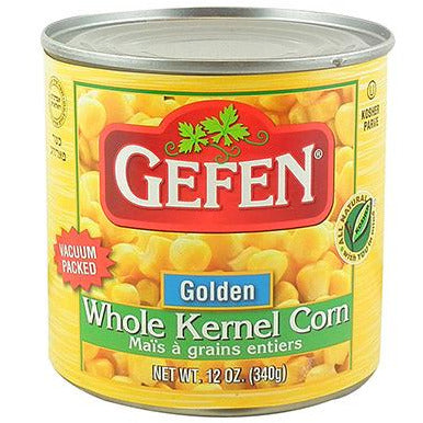 Gefen Vacuum Packed Corn 340Gr