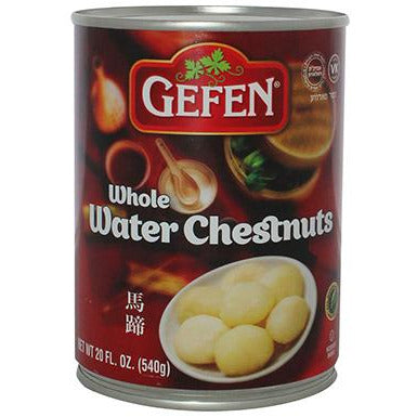 Gefen Water Chestnuts Whole 540G