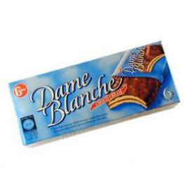 Gross Dame Blanche Cookies Chocolate Cream 6 Pack 180Gr