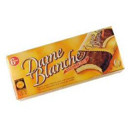 Gross Dame Blanche Cookies Vanilla Cream 6 Pack 180Gr