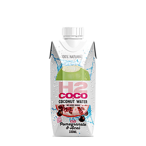 H2Coco Coconut Water Pomegranate & Acai 330Ml