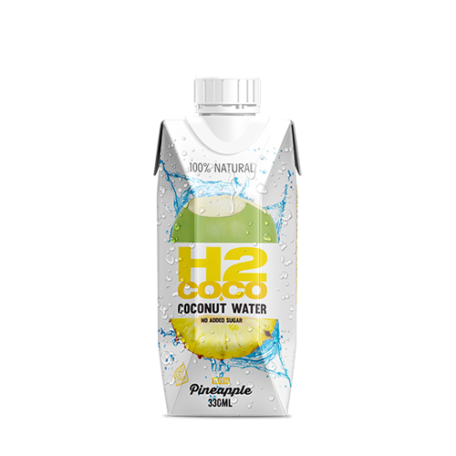 H2Coco Coconut Water With Pineapple 330Ml