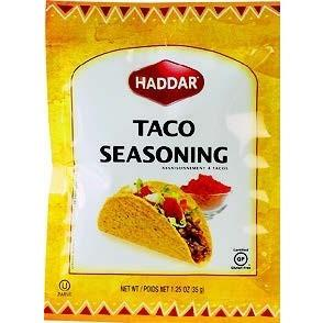 Haddar Taco Seasoning 35G