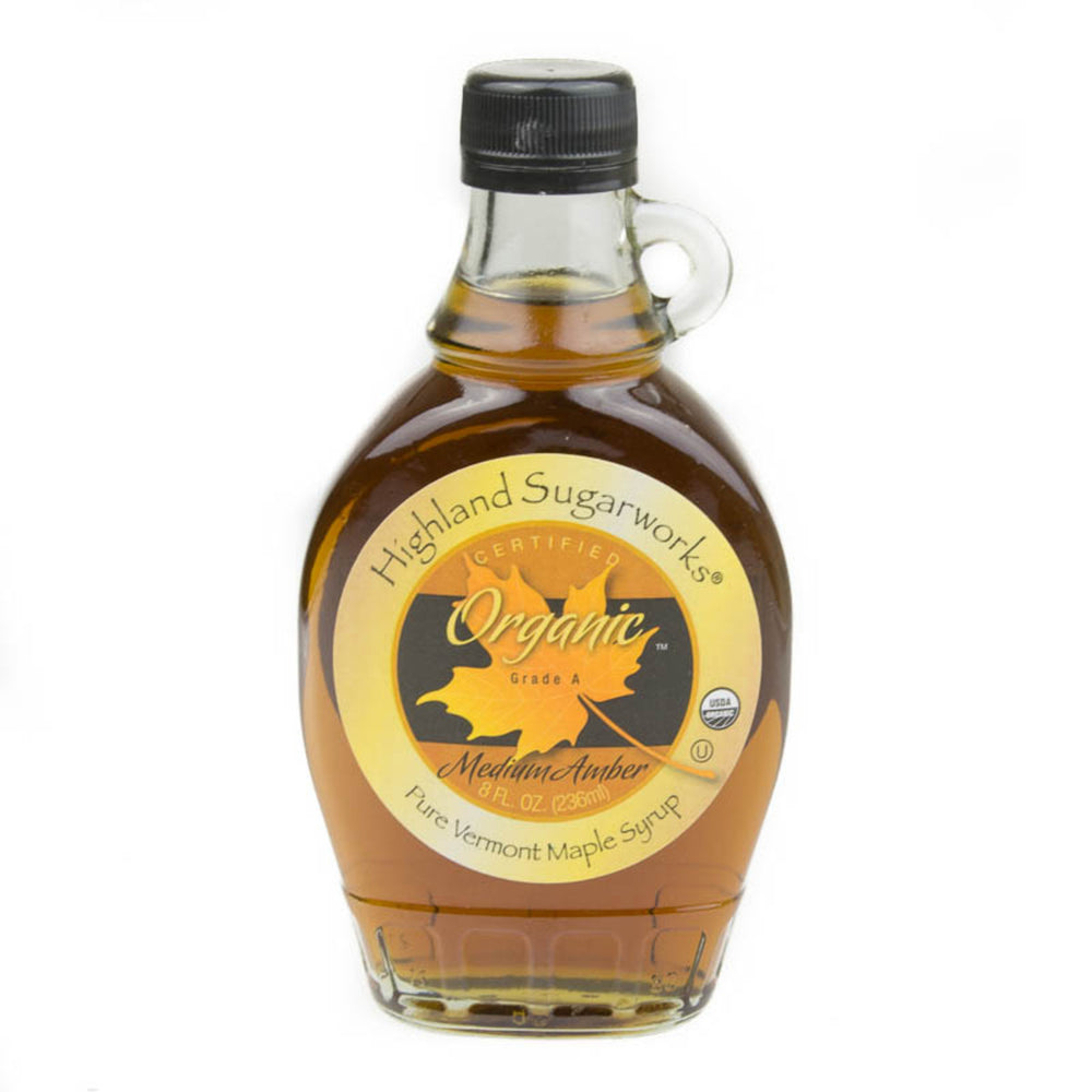 Highland Sugarworks Organic Grade A Maple Syrup 236ml