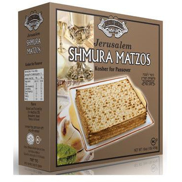 Jerusalem Matza Shmura Machine-Made Badatz 454G