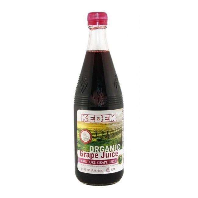 Kedem Organic Grape Juice 650Ml