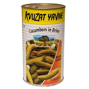 Kvuzat Yavne Cucumbers (Pickles) In Brine 1.3Kg