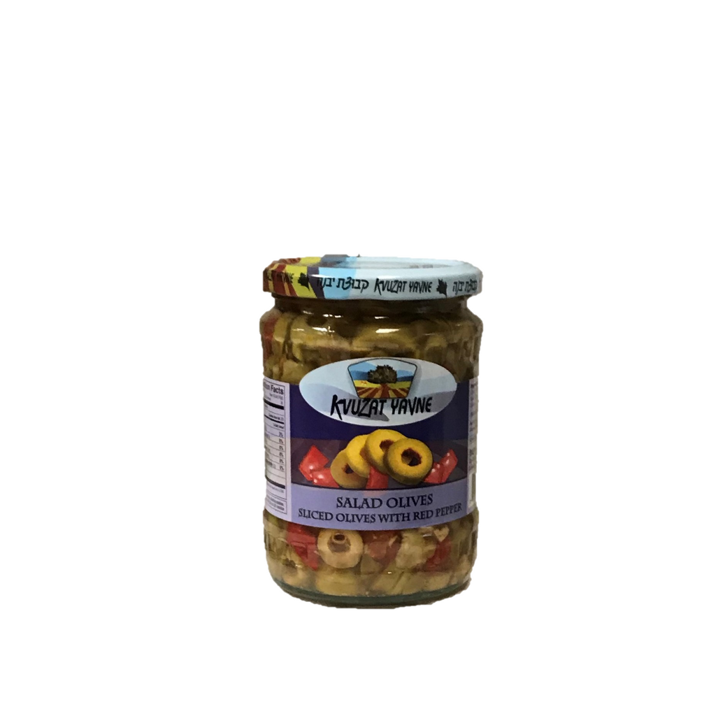 Kvuzat Yavne Salad Olives In Jar 540G
