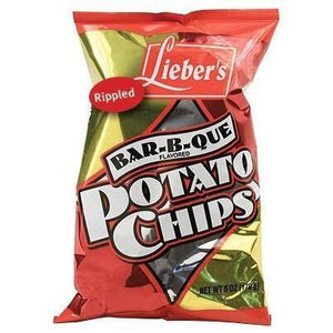 Liebers Bbq Potato Chips 140g
