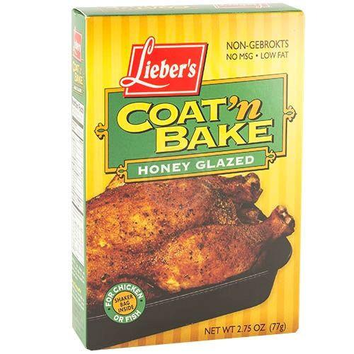 Liebers Coat N Bake Honey Glaze 77G