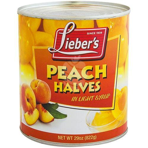 Liebers Peach Halves 820G