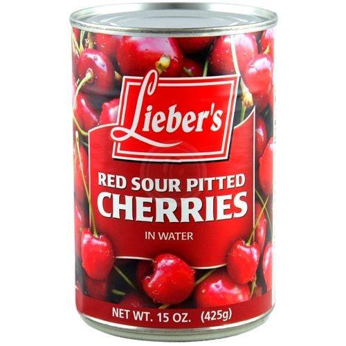 Liebers Sour Cherries 425G