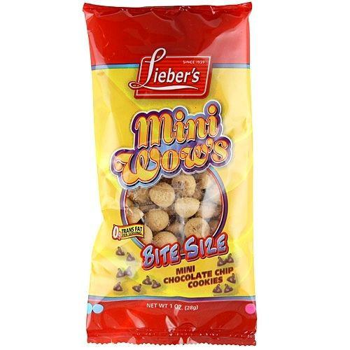 Liebers Wow Mini Chocolate Chip Cookies 28G